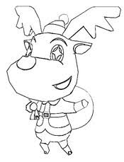 Malvorlagen Animal Crossing Bilder zum ausmalen