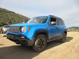 Car Picker Blue Jeep Renegade