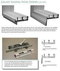 Sliding Patio Door Security by Sliding Patio Doors Anamar Windows Manufacturing
