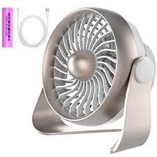 Small Desk Fan Small Desk Fan Portable Usb Rechargeable Battery