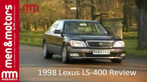 lexus ls400 interior 1998 lexus ls 400 review youtube