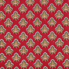 French Country Chair Cushions - kitchen chair cushion with ties in bonjour red a french country