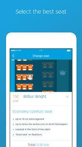 Klm Economy Comfort Klm On The App Store