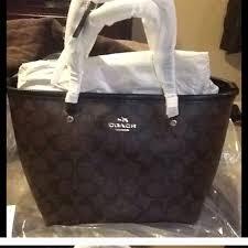 65 coach handbags 50 sale nwt coach mini tote coach