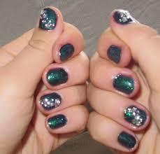 23 quick nail designs easy and quick half moon nail art designs
