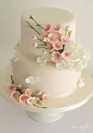 Flower Cakes Best 25 Fondant Flower Cake Ideas On Pinterest Easy Fondant