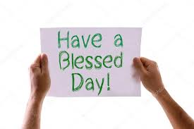 a blessed day card stock photo gustavofrazao 67112675