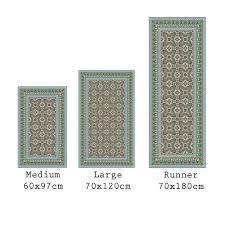 buy beija flor eclectic vinyl floor mat amara
