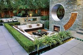 modern garden design ideas picture contemporary garden design