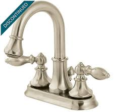 Pfister Faucets Warranty Brushed Nickel Catalina Centerset Pull Out Bath Faucet T548 Ebk