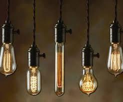 Vintage Lighting Fixture Light Bulb