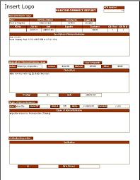 non conformance report form template non conformance report program dimensional business solutions