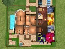 sims 2 floor plans plans sims 2 house plans