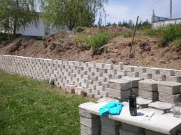 Concrete Block Garden Wall by Make Your Own Garden Wall With Our Concrete Wall Molds Forms 1