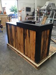 L Reception Desk by Buy A Hand Made 3 Reclaimed Torched Pine Wood L Shaped Reception