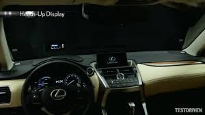 lexus nx paultan 2015 lexus nx key features youtube