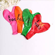 valentines day balloons wholesale 10 pcs new 18 inch printing i you balloons party