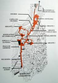 Map Of Rio De Janeiro Follow The Yellow Brick Road U201d Morro Da Providencia U0027s Open Air