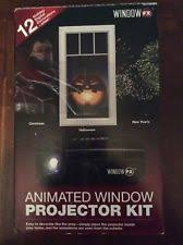 Animated Christmas Window Decorations by Christmas U0026 Winter Window Decorations Ebay