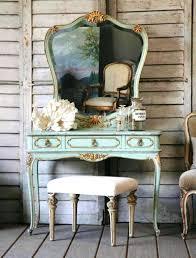Vintage Style Vanity Table Vanities American Style Solid Wood Vanity Retro Folding