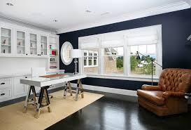 Curtains For Dark Blue Walls Navy Blue Curtains Trend Portland Contemporary Home Office