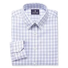 stafford executive long sleeve pinpoint oxford dress shirt big