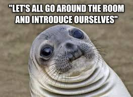 Awkward Seal Meme - can you relate to awkward moment seal excuse meme yep