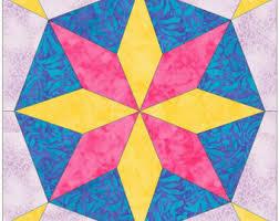 octagon quilt block etsy