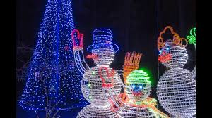 garvan gardens christmas lights 2016 holiday lights 2016 youtube