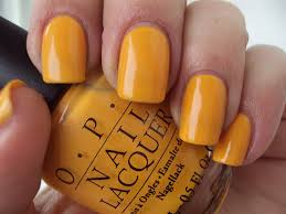 opi nails the it colour yellow nail lacquer polish brights