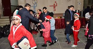 kuwait abbasiya konkani families enjoy gala christmas new year