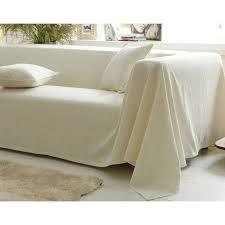 jeté de canapé en boutis plaid ou jeté de canapé piqué de coton becquet avec