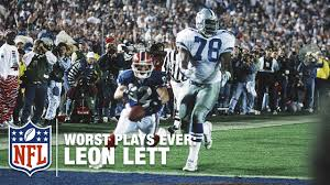 don t lett showboat nfl s worst plays