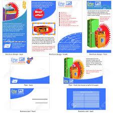 kitchen appliances template design brochure design flyer design