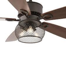 Kichler Ceiling Fan Light Kit Kichler Clermont 52 In Satin Bronze Downrod Mount Indoor