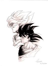 son goku two sides by marvelmania on deviantart
