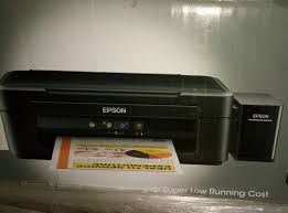 epson l220 colour ink tank system printer youtube