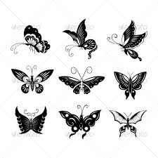 butterflies design by namistudio graphicriver