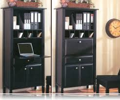 secretary desk with bookcase black secretary desk library bookcases coaster 800373
