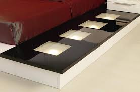 Platform Bed Modern Impera Modern Contemporary Lacquer Platform Bed