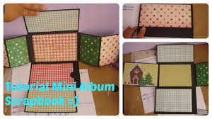 scrapbook albums tutorial mini album scrapbook