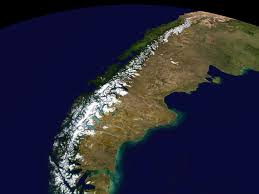 Patagonia South America Map by Patagonia