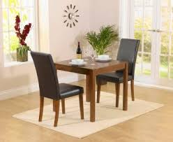 2 chair kitchen table set dark wood dining sets 2 seater the great furniture trading company