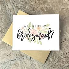 in bridesmaid card will you be my bridesmaid cards wedding cards floral to my
