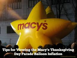tips for attending the before macy s thanksgiving day parade