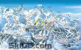 Ski Utah Map by Courchevel Piste Map Ski Pinterest