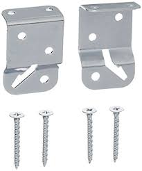 Levolor Blind Clips Amazon Com Levolor Lrsunvbracketd Universal Mount Shade Brackets