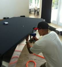 pool table felt repair re felt re cloth pool table pros