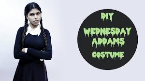 wednesday addams halloween costume diy wednesday addams costume youtube