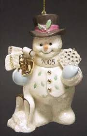 Lenox Christmas Snowman Ornaments by More Than 100 Collections From Lenox Department 56 Gorham